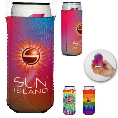 Slim Full Color Neoprene Can Holder