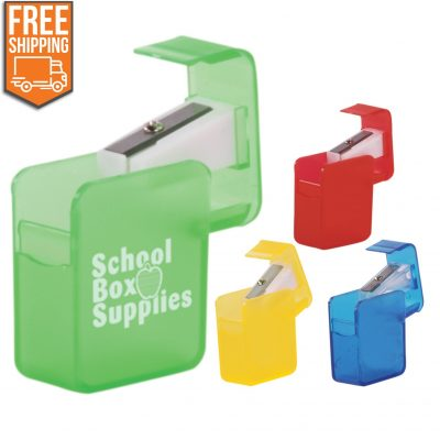 Square Pencil Sharpener - Free FedEx Ground Shipping