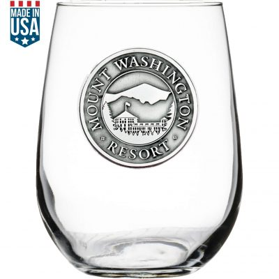 Heritage Stemless Wine Glass 1 5/8 Medallion