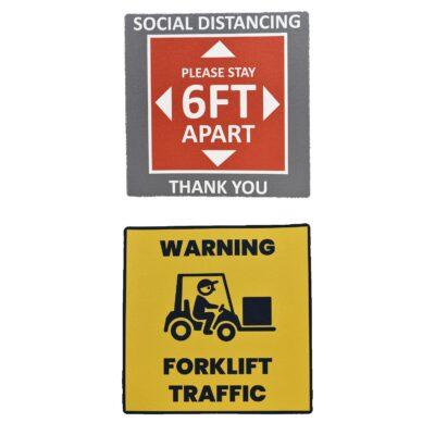 "11.5"" Square Wall Or Walk Sticker"