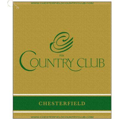 "16"" x 19"" Designer Woven Golf Towel"